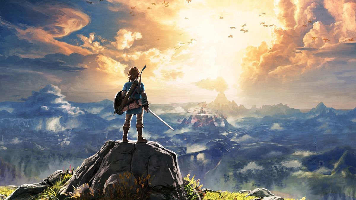 Image result for breath of the wild art