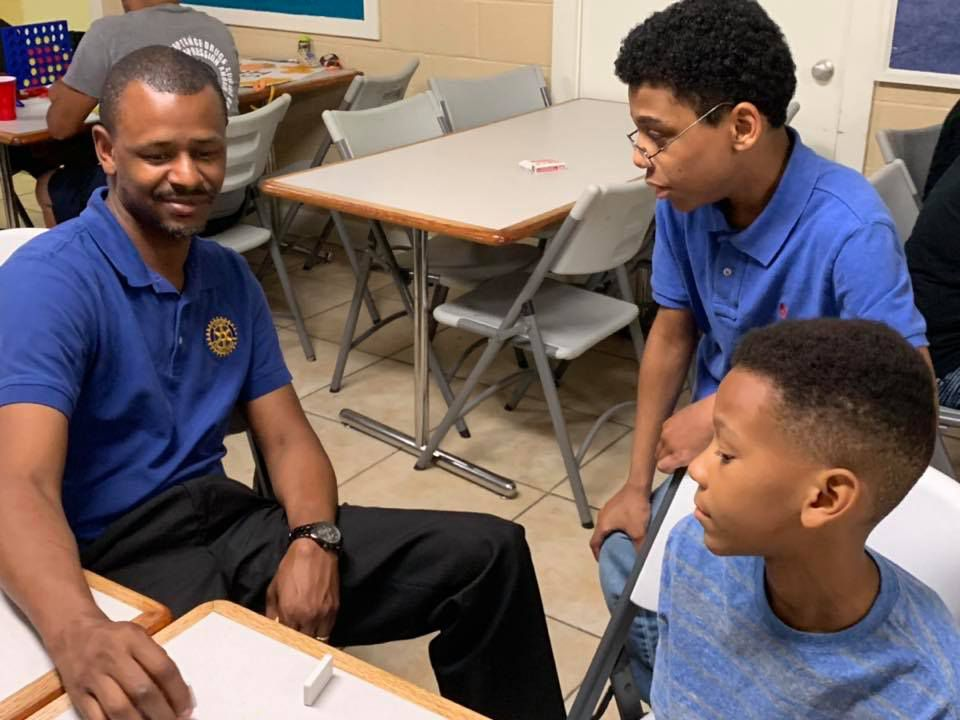 Caswell currently works with 30 students and hopes to reach 100 students this year.