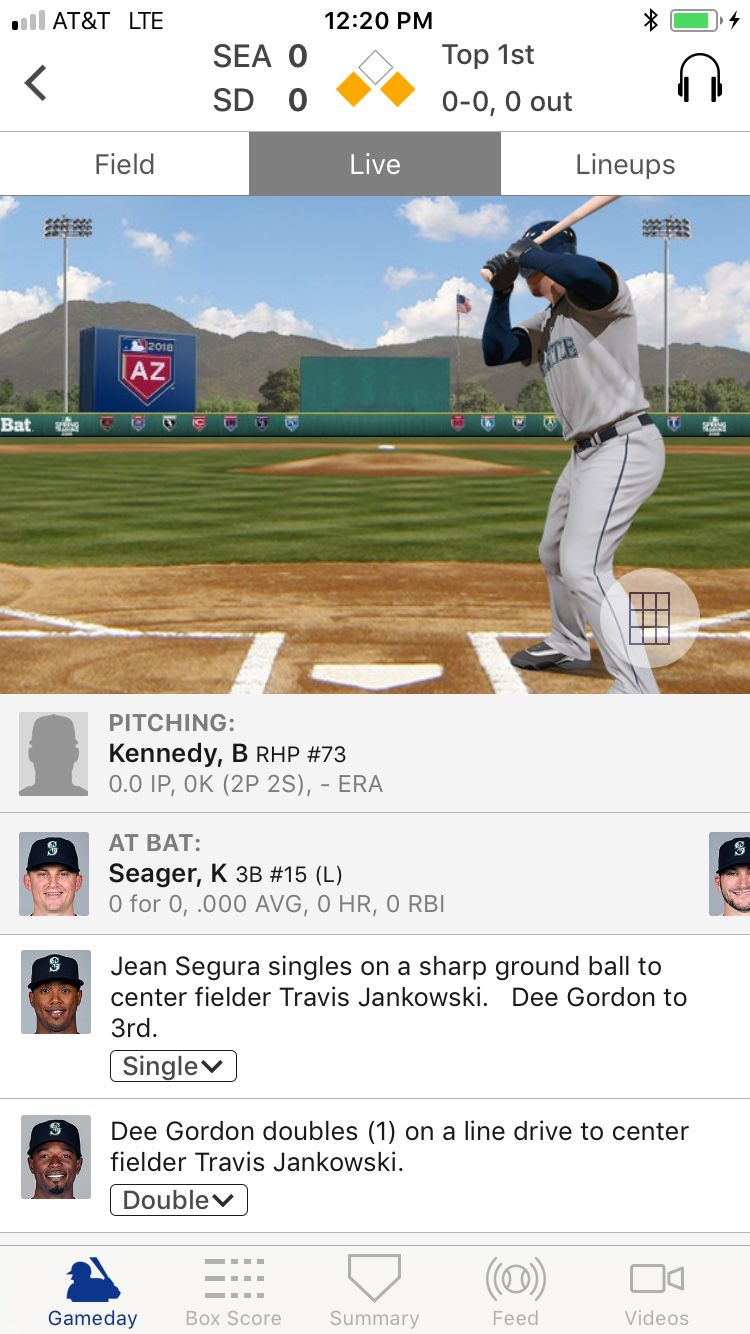 Mariners Do Baseball Things to the Padres - Lookout Landing