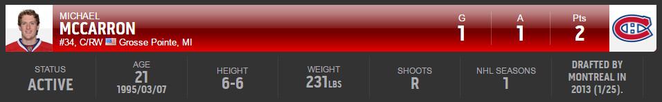 McCarron 2016 t25u25 header