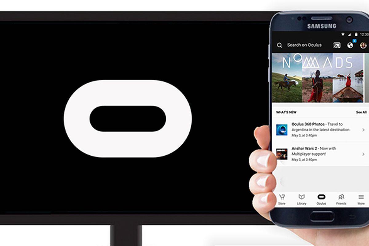 Gear VR with Chromecast