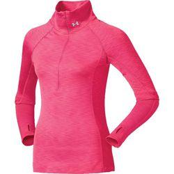 """Avoid cotton, and stick to moisture-wicking gear.""<em>—Liz Corkum</em> (Under Armour Women's ColdGear Cozy Half Zip Long Sleeve Shirt, <a href=""http://www.dickssportinggoods.com/product/index.jsp?productId=45539176&DeviceOptOut=1"">$44.99</a> at Dick's Sp"
