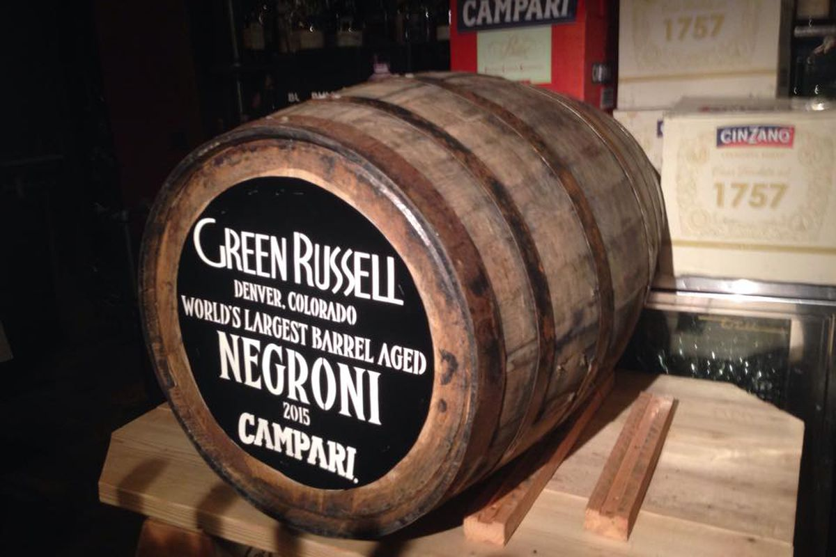 Negroni at the Green Russell