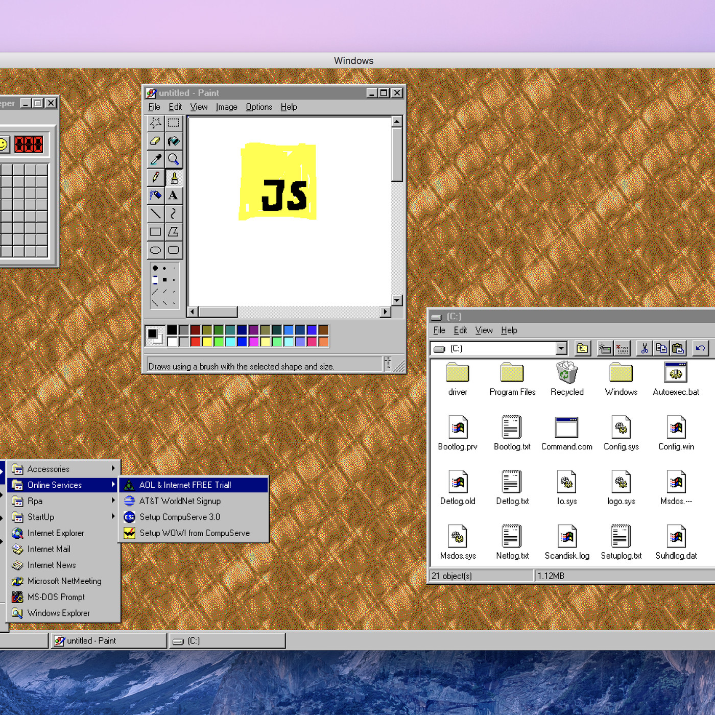 Windows 95 is now an app you can download and install on macOS