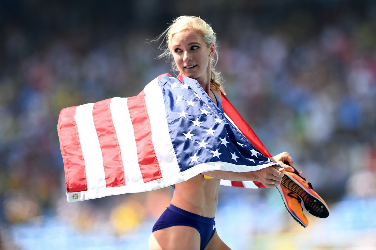 emma s gold medal in meddling Emma coburn is headed to rio after a sterling performance at the us olympic trials, winning the steeplechase in 9:1748 alas, the gold medal she won at the trials.