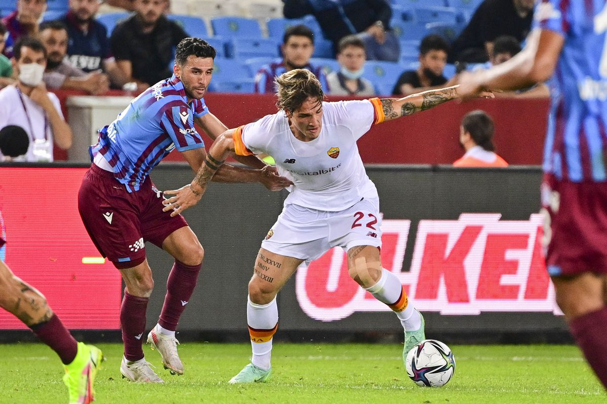 Trabzonspor v AS Roma - UEFA Conference League: Play-Offs Leg One