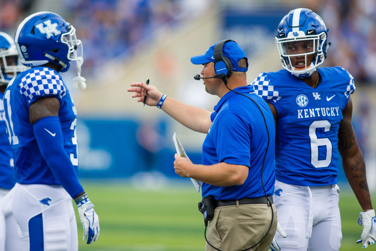 COLLEGE FOOTBALL: SEP 01 Central Michigan at Kentucky