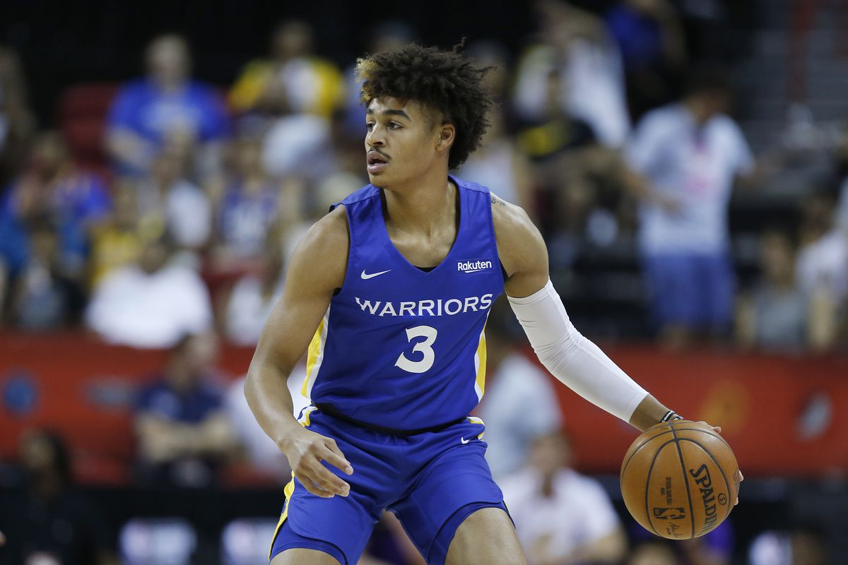 Warriors Jordan Poole and Jacob Evans III are developing chemistry