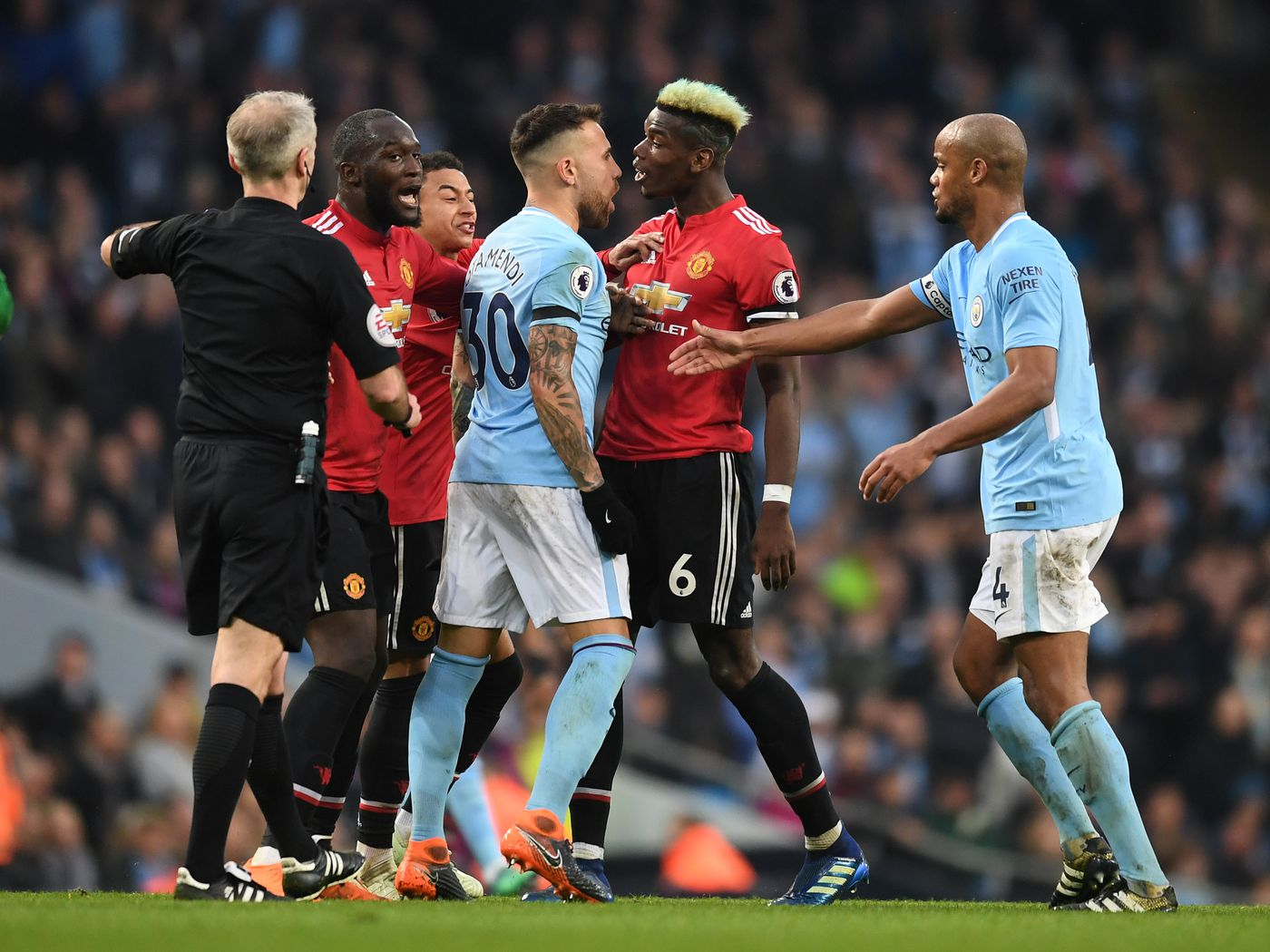 Manchester City Vs Manchester United Premier League Matchday 12 Extended Manchester Derby Preview Bitter And Blue
