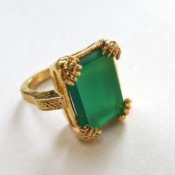 <b>Elizabeth Knight Jewelry</b> Lion Claw Ring, $260
