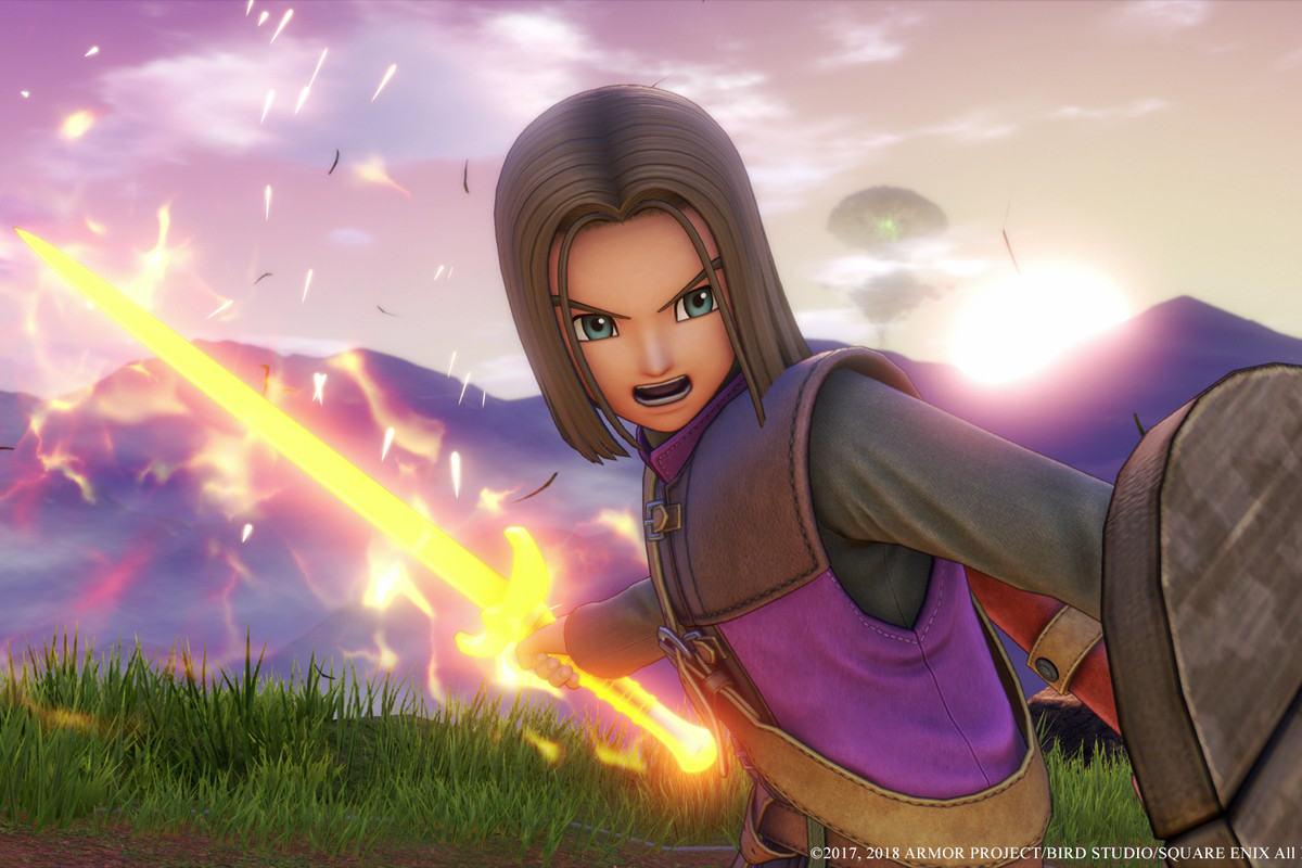 Smash Bros 's next characters are Dragon Quest 11's hero and