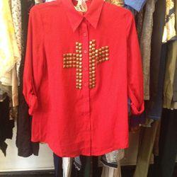 Hot & Delicious blouse, $20