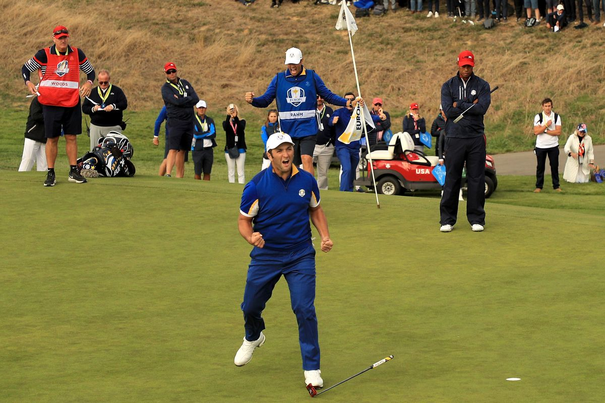 1ea38921b00ea 2018 Ryder Cup results: Europe dominates embarrassingly bad team USA ...