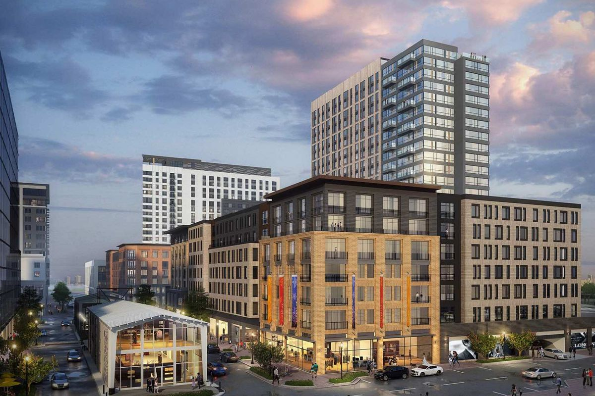 b7bbd0f9c57 Somerville s Assembly Row would get 500 more residences with 500 more  parking spaces. New ...