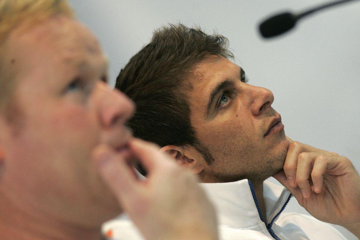 Valencia's Joaquin and Dutch coach Ronal