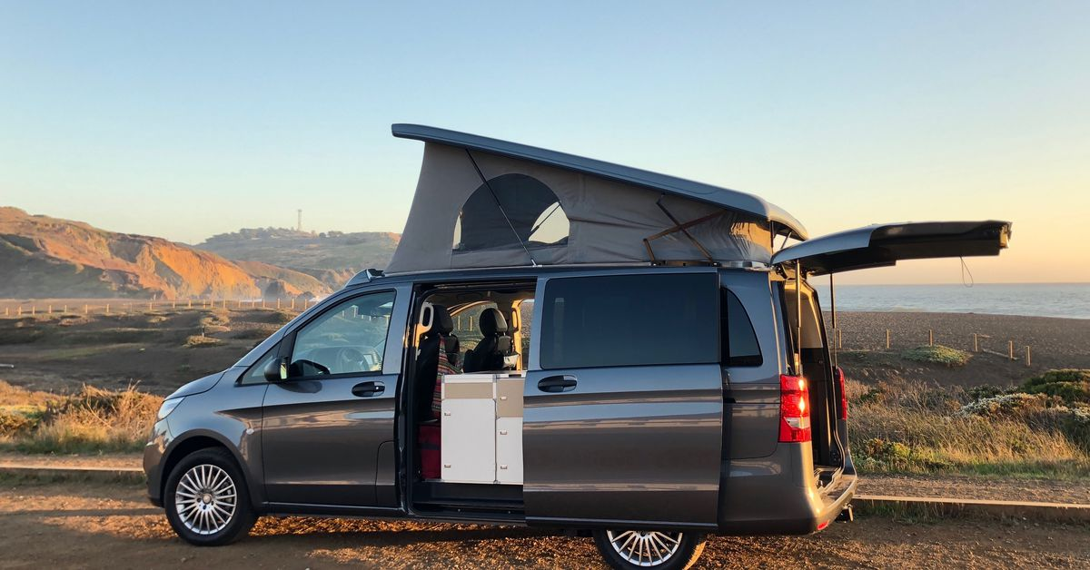 Converted Camper Van Sleeps A Family And Fits In A Garage Curbed