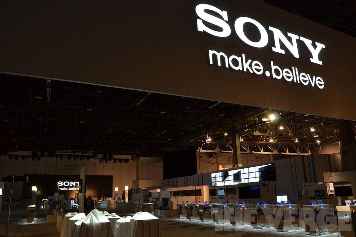 Sony CES booth (1020)
