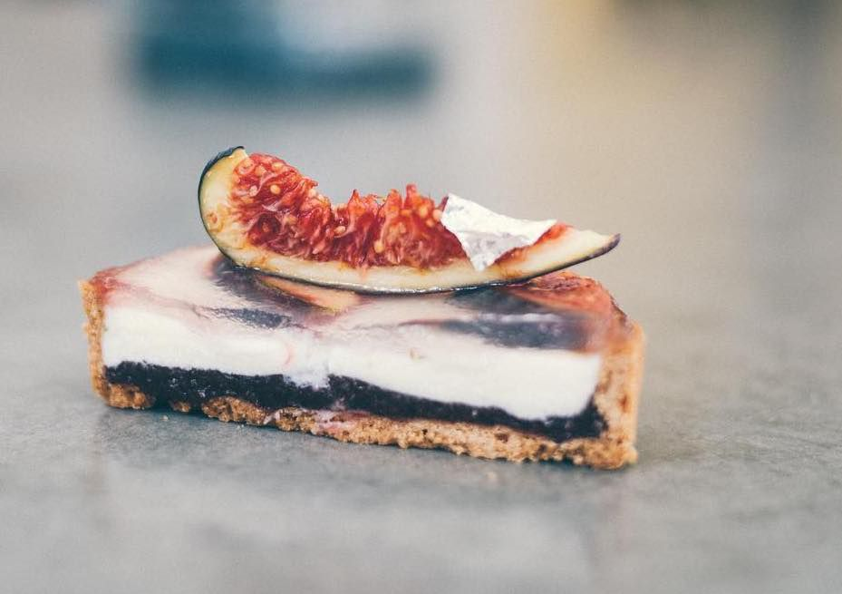 Bermondsey's best restaurants: Fig tart at Hedone Bakery, one of the best places to eat pastry in London