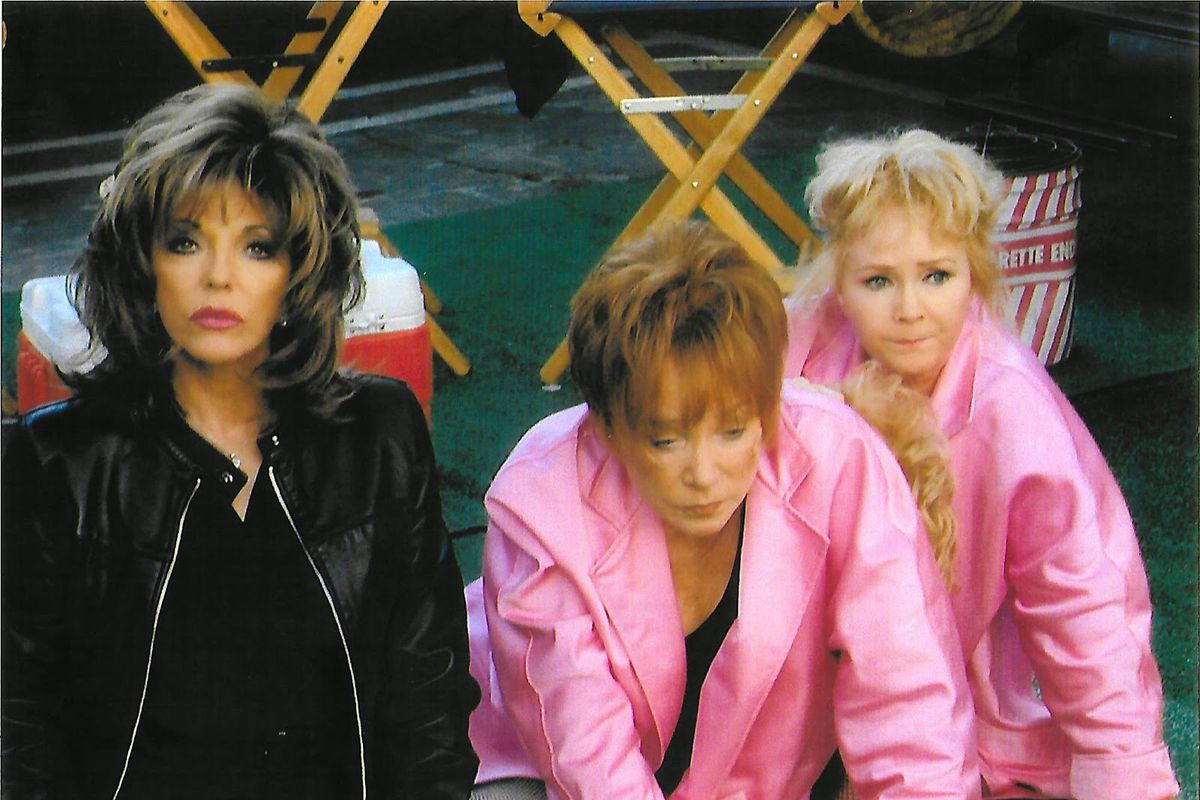 Joan Collins, Elizabeth Taylor, and Joan Collins in These Old Broads