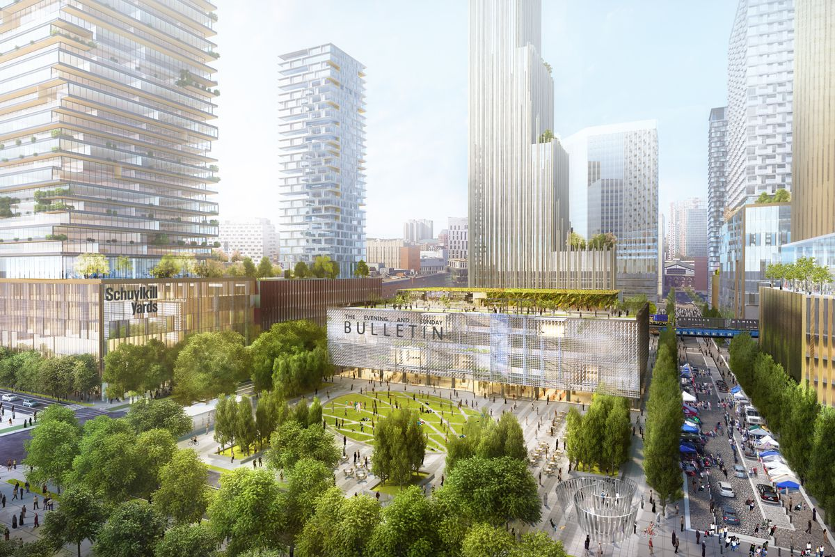 $3.5b schuylkill yards project in university city breaks ground