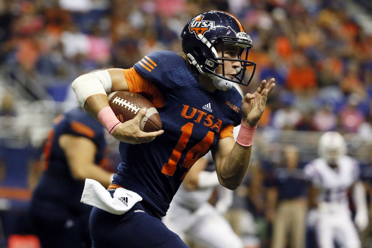 Dalton Sturm will seek to build on his first career win against Rice this week