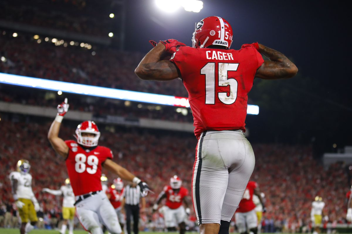 Uga Advanced Statistics Analytics Week 5 Dawg Sports