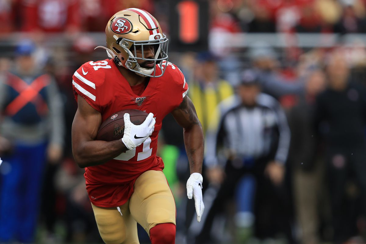 Raheem Mostert requests trade from the San Francisco 49ers - Fake Teams