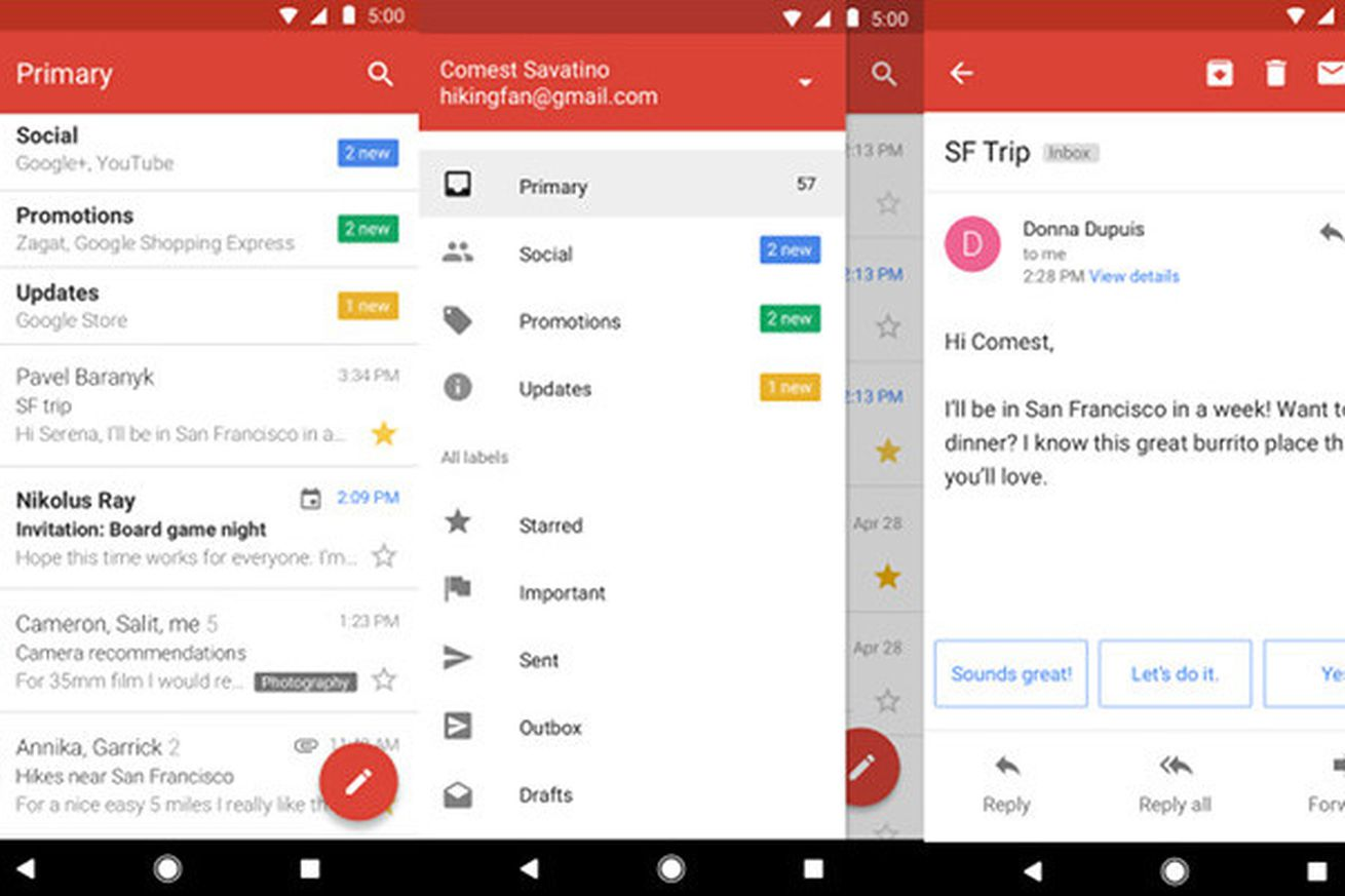 google launches gmail go for android