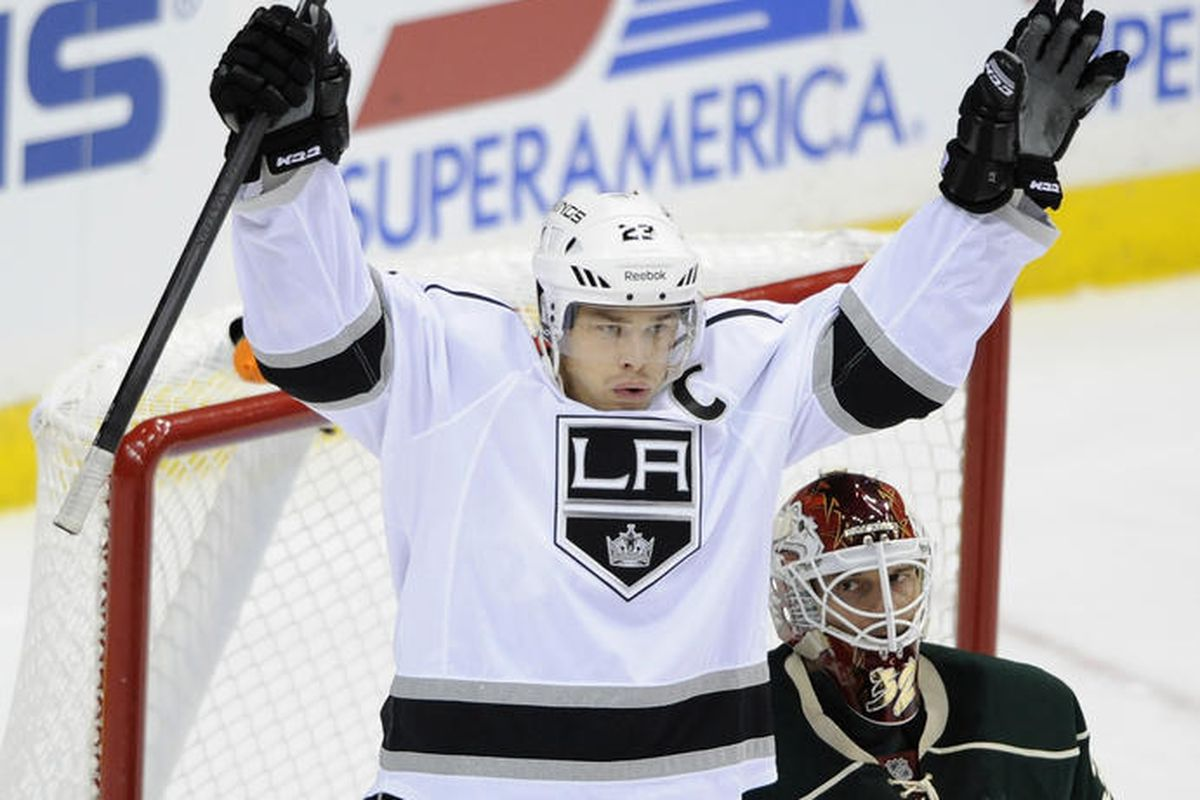 """""""And now, to Nik Backstrom. Can you sum up Minnesota's thoughts on Dustin Brown?"""""""
