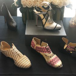 """Attendees also received a gift certificate to design their own shoes on <a href=""""http://www.projectshoe.com"""">ProjectShoe.com</a>, valued at $150 and up."""