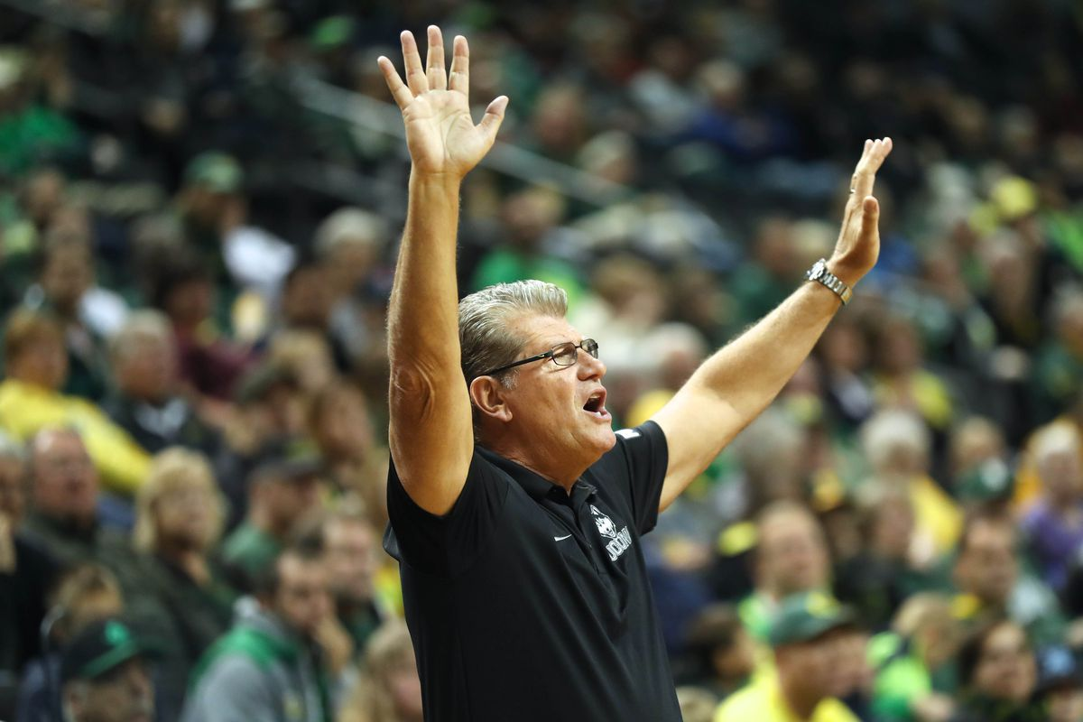 NCAA Womens Basketball: Michigan State at Connecticut