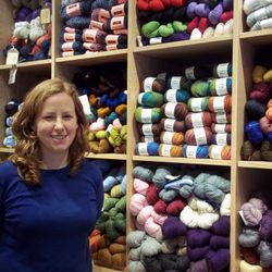 Mandy, Owner of Windy Knitty