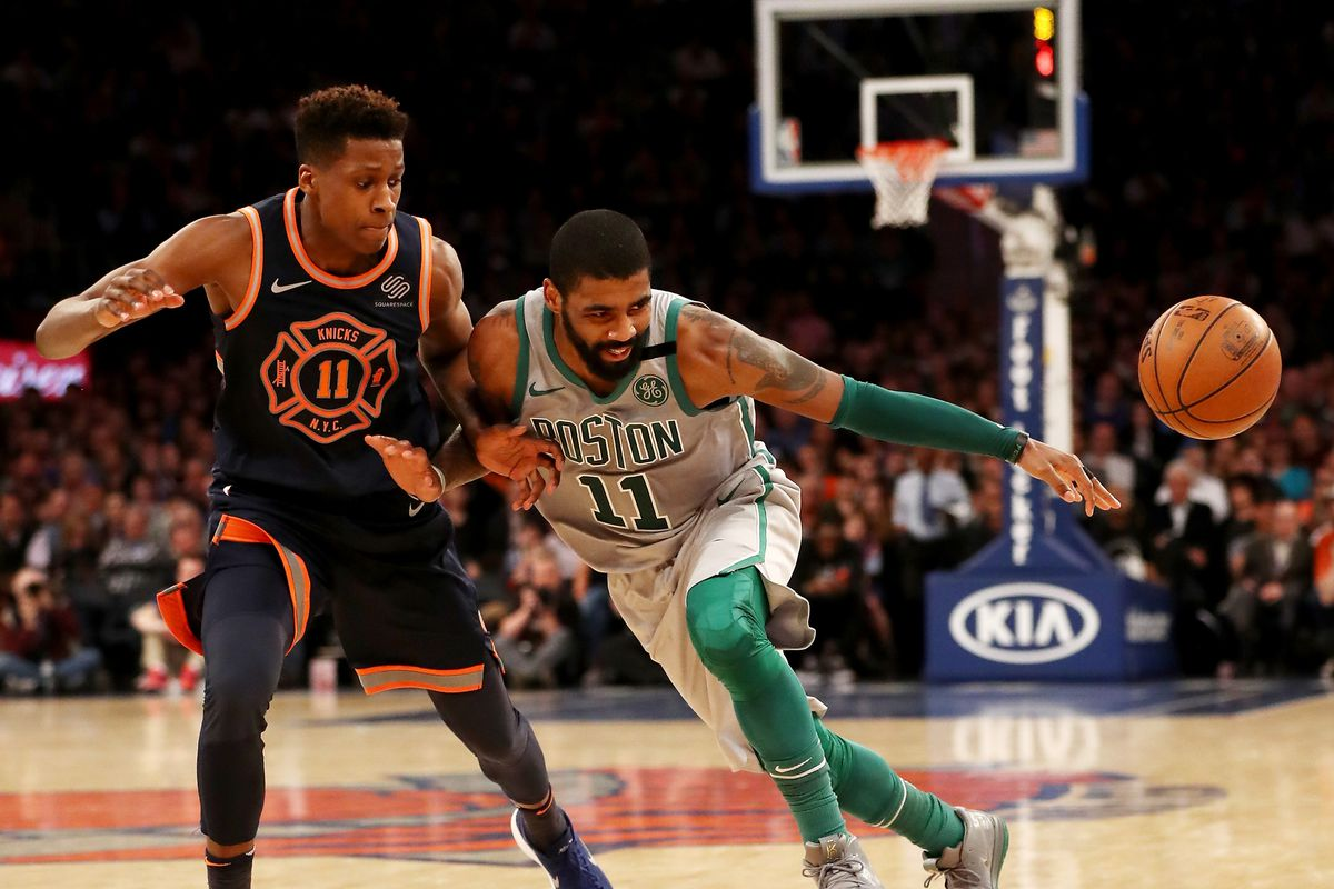Boston Celtics Kyrie Irving out for remainder of season and entire playoffs