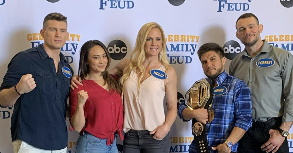 The Weekly Grind: Holly Holm, Michelle Waterson, Henry Cejudo, Stephen Thompson to appear on Celebrity Family Feud