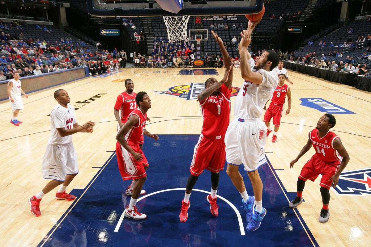 AAC Basketball Tournament - Quarterfinal Round - Houston v SMU