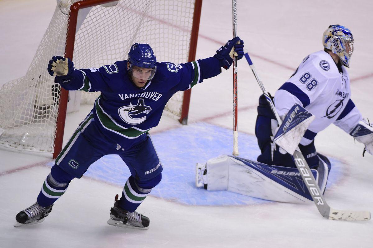NHL: Tampa Bay Lightning at Vancouver Canucks