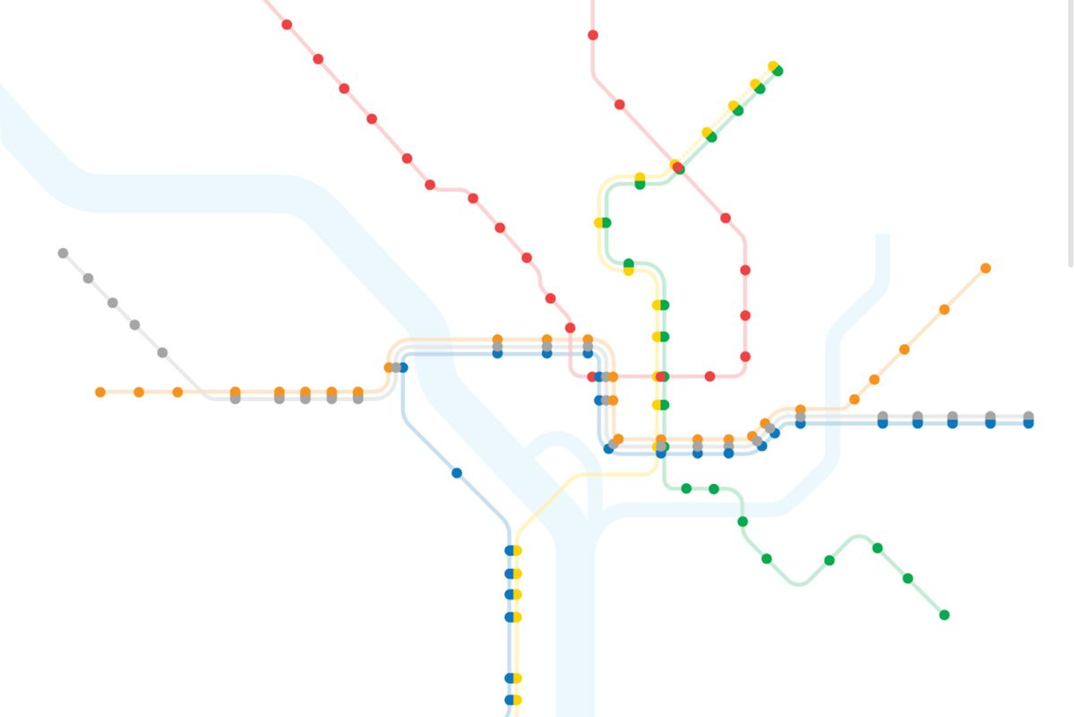 Boston Subway Map To Zoo.Here S What The D C Metro Map Looks Like With Just Accessible
