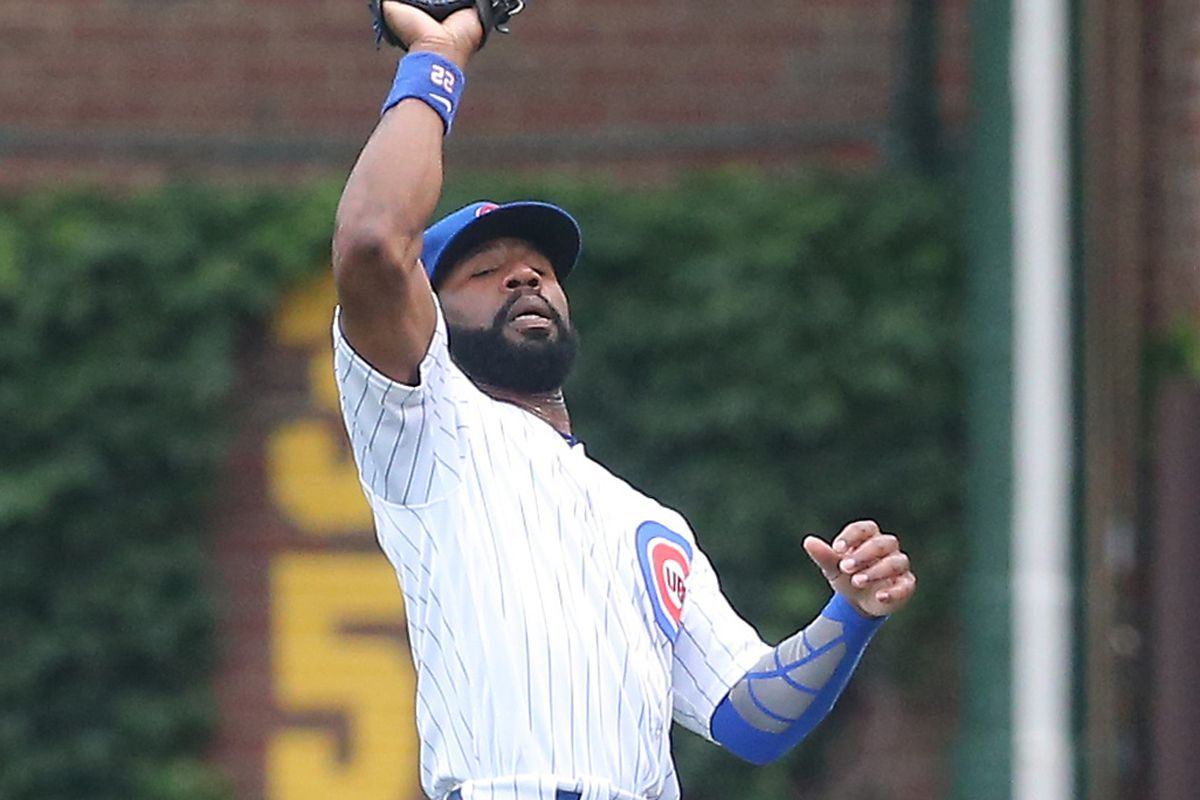 MLB: Game One-St. Louis Cardinals at Chicago Cubs
