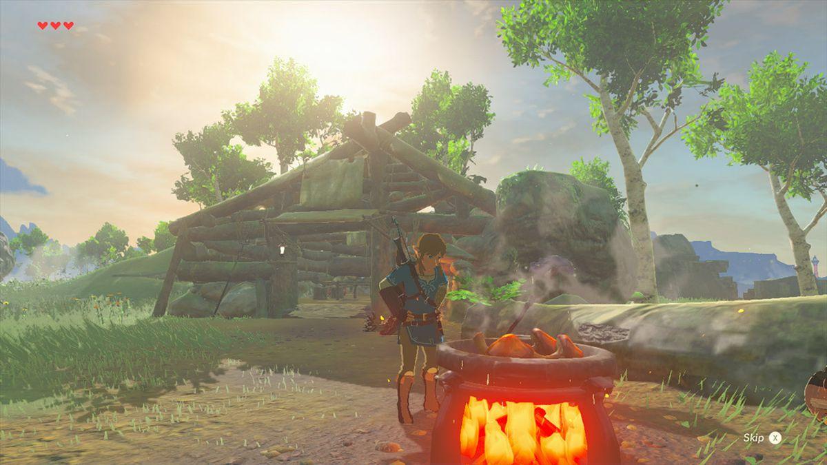 The Legend of Zelda: Breath of the Wild screenshot gallery