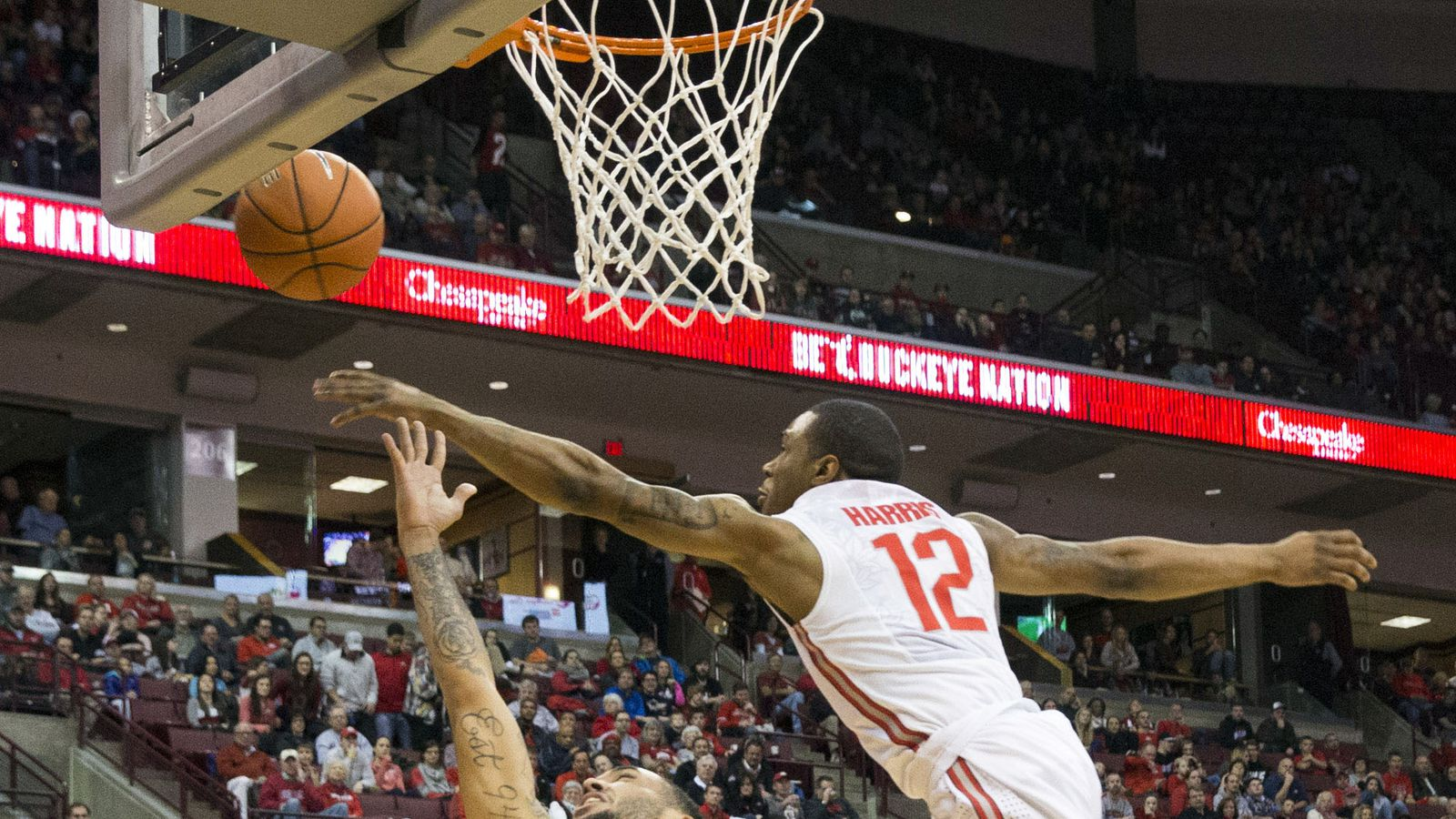 Ohio State's 5'9 point guard chased a guy down from behind ...