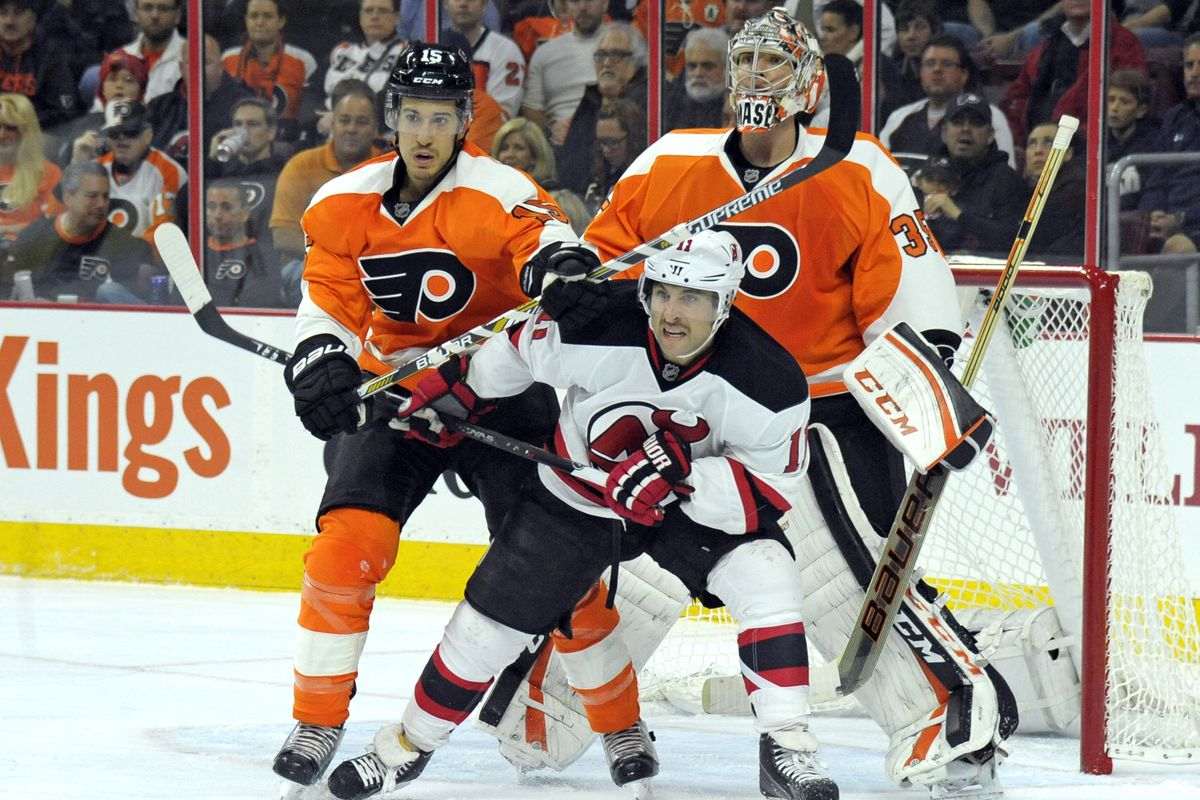 Gionta and the Devils take on the Flyers tonight.