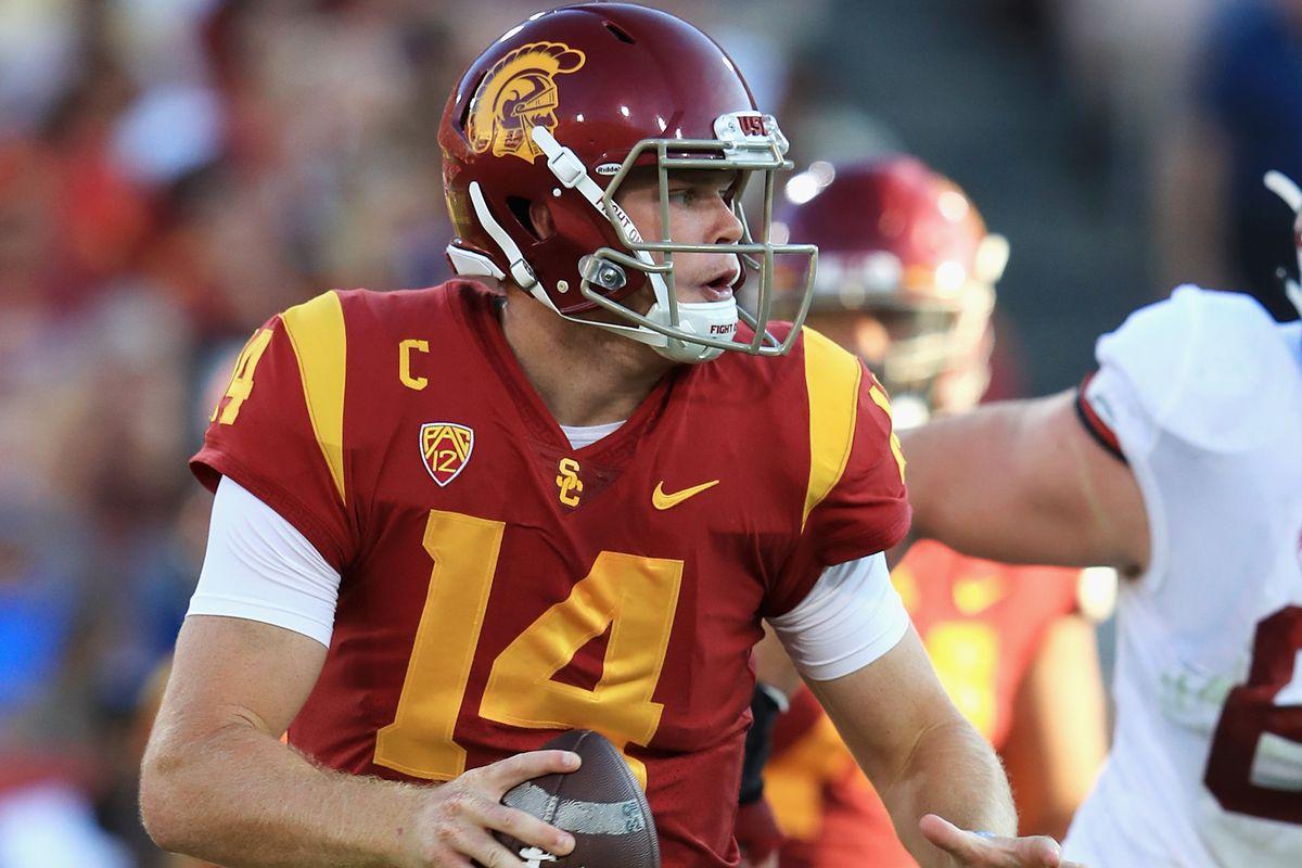 online store ac4c2 fb11b NFL draft 2018: Is Sam Darnold a 'system quarterback ...