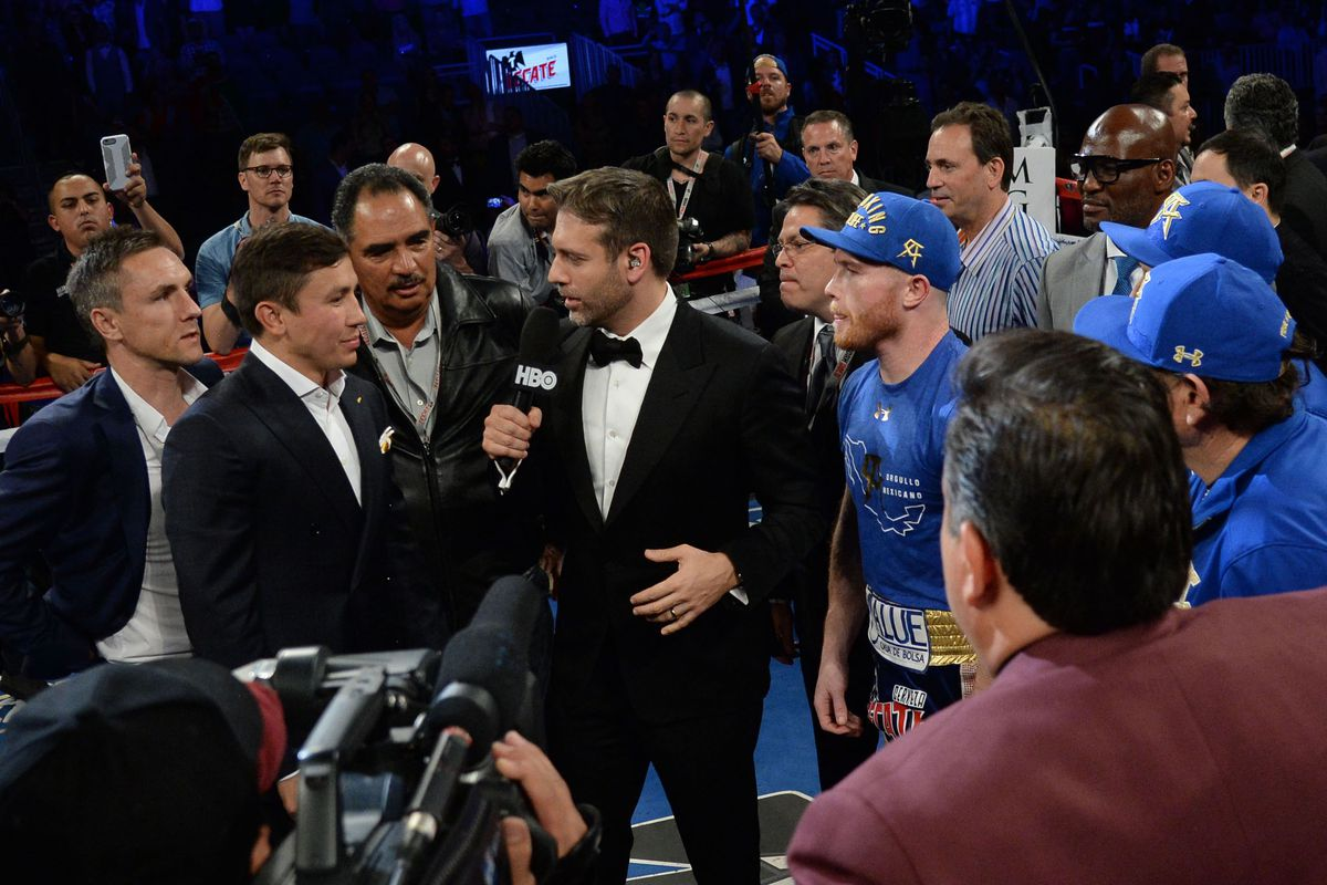 GGG and Canelo are set to clash in Las Vegas Getty