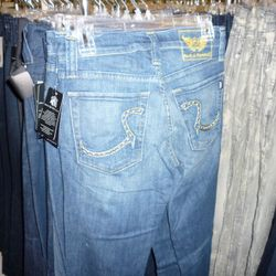 These are men's jeans