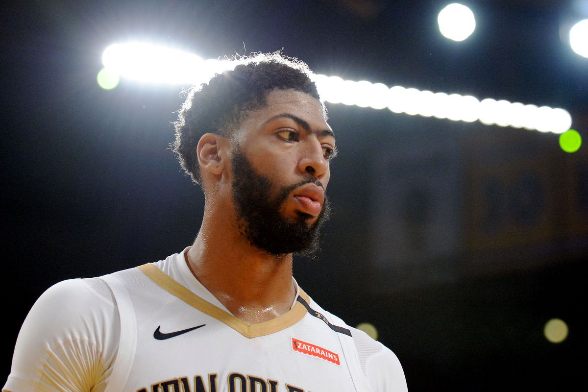 NBA Trade Rumors  Anthony Davis hasn t told anyone he is  dead set ... d681db8be