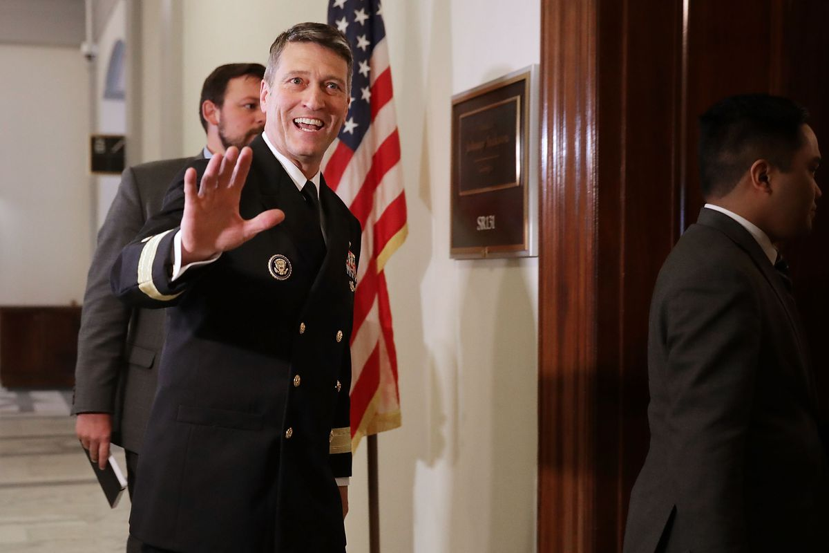 Rear Adm. Ronny Jackson, the top White House doctor.