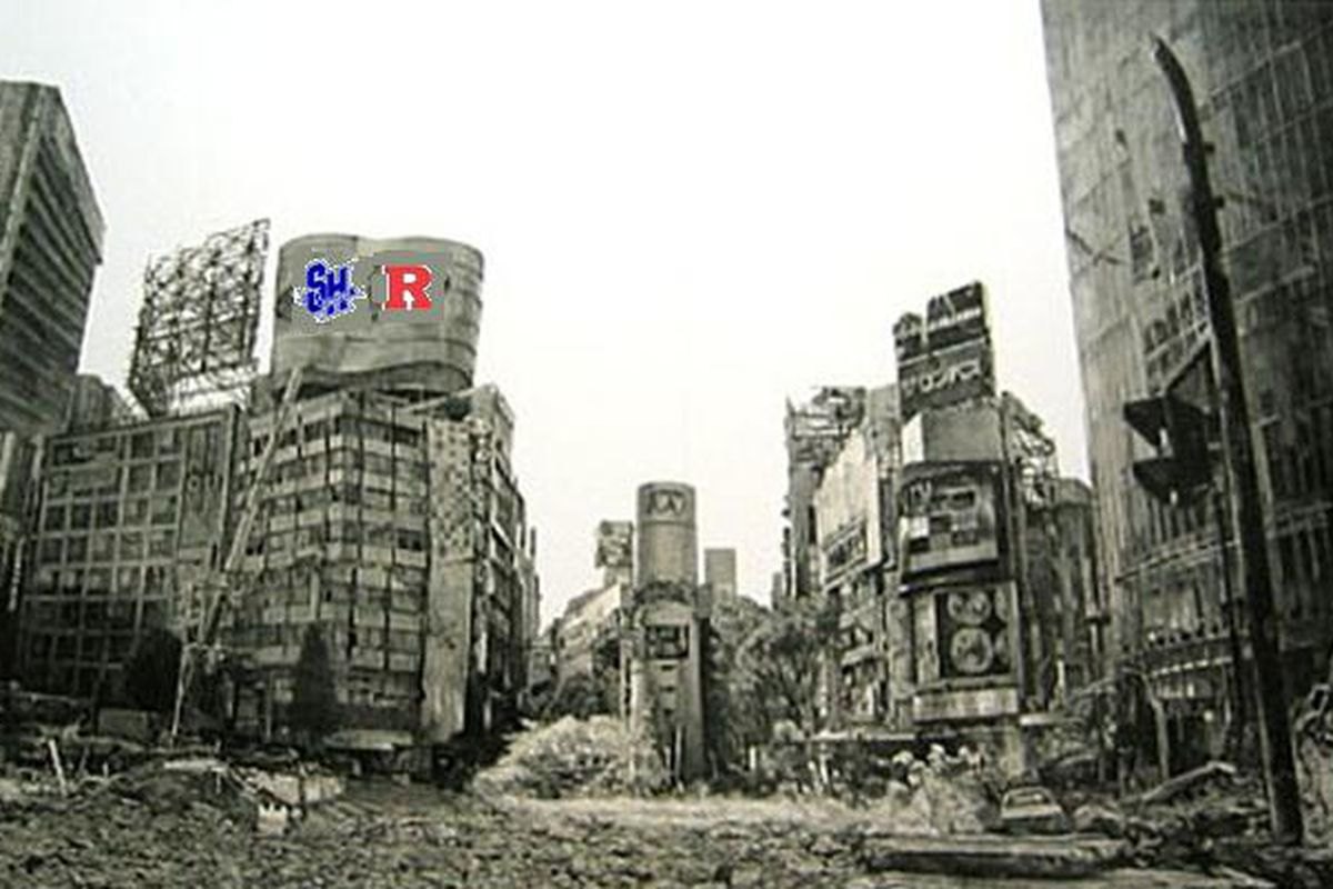 This photo, allegedly from the year 2039, shows the post-apocalyptic landscape where only Rutgers vs. Seton Hall still matters.