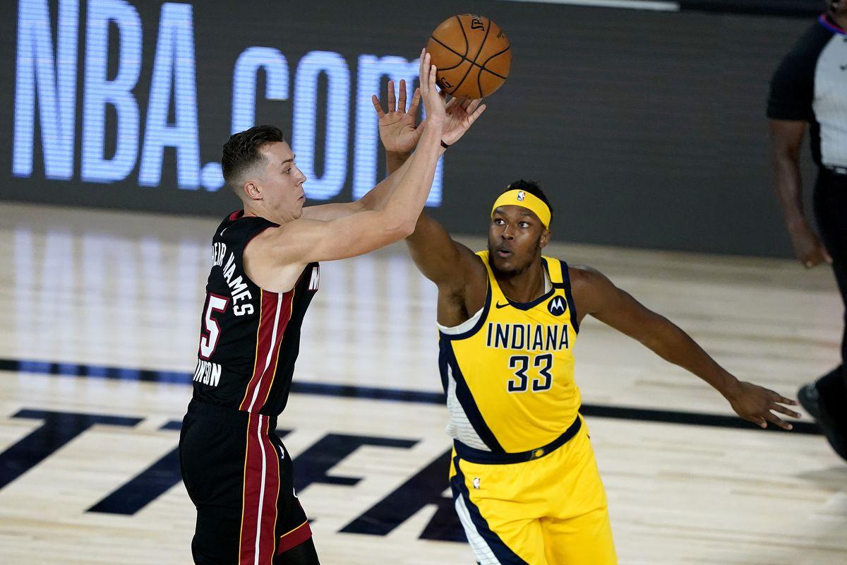 Miami Heat gegen Indiana Pacers - Spiel zwei