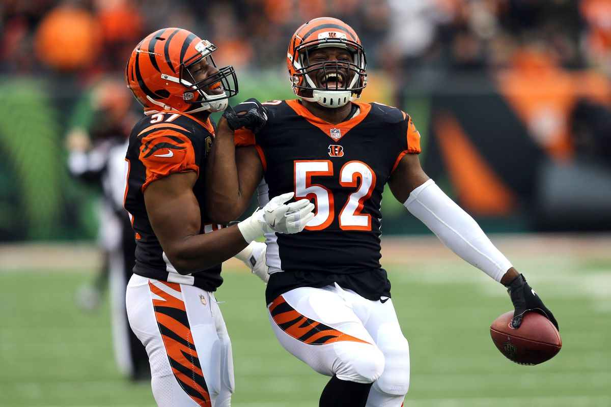 official photos c6ffb d7495 Bengals put LB Preston Brown on IR, sign DE Kasim Edebali ...