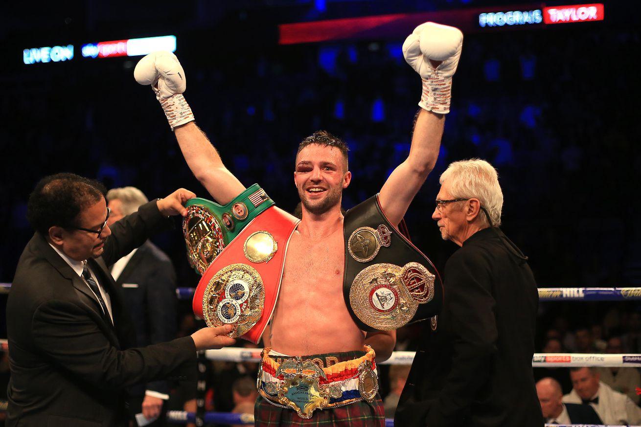 Regis Prograis v Josh Taylor - World Boxing Super Series Super-Lightweight Ali Trophy Final